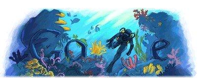 jacques-cousteau doodle