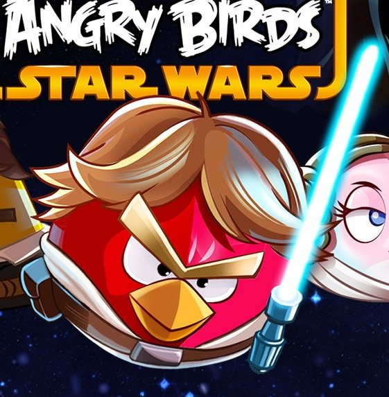 Angry Birds Luke Skywalker