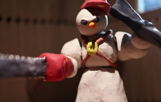 "Video of the Day: Knetfiguren-Zombie-Action bei Sufjan Stevens ""Mr. Frosty Man"""