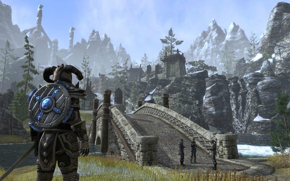 The Elder Scrolls - Online: Video erklärt den Krieg der drei Fraktionen