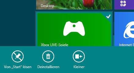 Windows 8 Startbildschirm einrichten