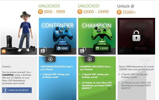 Xbox Live: Relaunch des Rewards-Programms im September