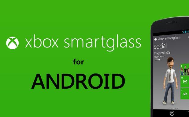 Microsoft veröffentlicht Xbox Smart Glass App für Android