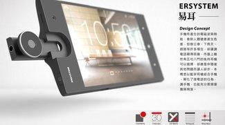 LiteOn ERSYSTEM: Das Smartphone mit integriertem Headset