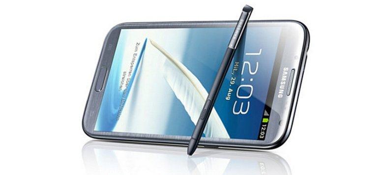 Galaxy Note 2: In Schwarz aufgetaucht