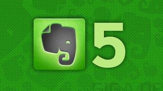 Evernote 5 für iOS ab sofort im App Store verfügbar