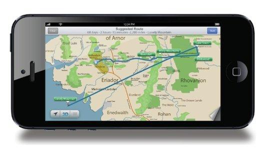 Pic of the day: Der Hobbit und das iPhone 5