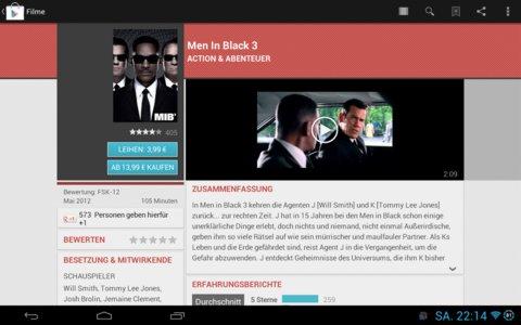 Google Play Filme kaufen