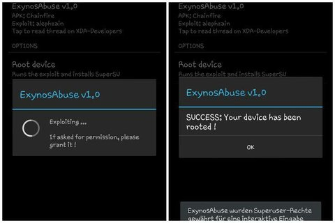 Galaxy S3 ExynosAbuse
