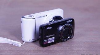 Samsung Galaxy Kamera vs. Nikon Coolpix S800c: Ein Vergleich