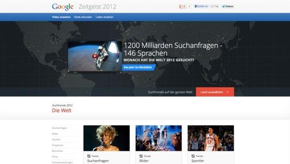 Google Zeitgeist 2012 mit ironischer Fußnote: iPad 3 vor Samsung Galaxy S3