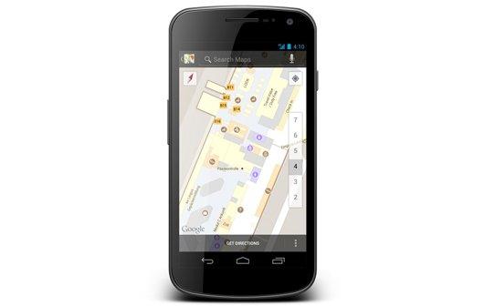 Google Indoor Maps nun auch in Deutschland verfügbar