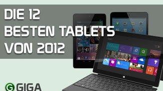 Die 12 besten Tablets 2012 (Infografik)