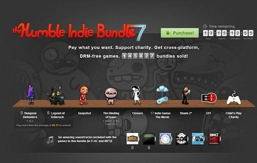 "Humble Indie Bundle 7 ist da! Mit ""Indie Game: The Movie"", Shank 2, The Binding of Isaac..."