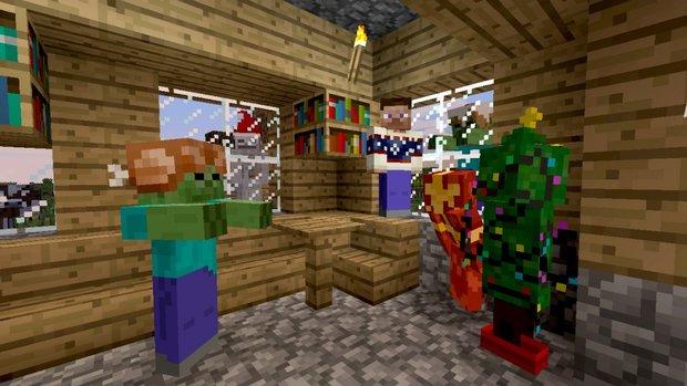 Minecraft: Xbox 360 Edition bekommt morgen ein neues Update