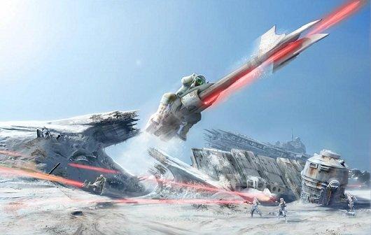 Star Wars - Battlefront Online: Concept Art aufgetaucht