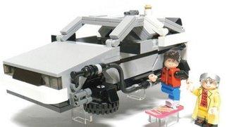 LEGO produziert den DeLorean aus Zurück in die Zukunft