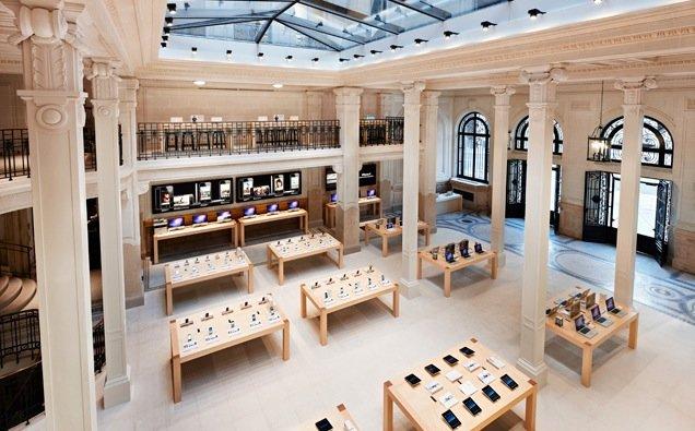 Bewaffneter Raubüberfall auf Apple Store in Paris