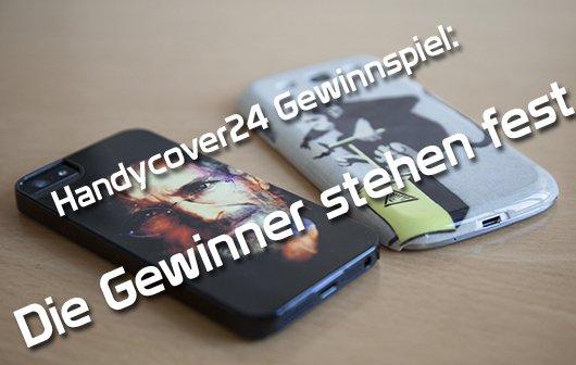 Handycover24 Gewinnspiel: Die Gewinner stehen fest