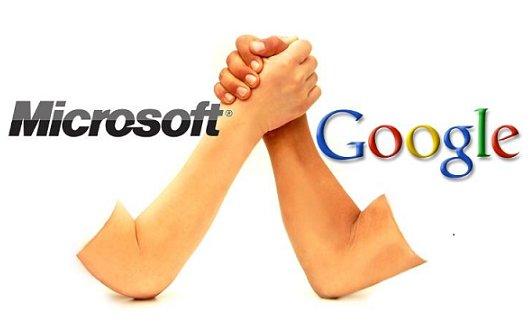 Microsoft vs. Google: Haare ziehen und kratzen verboten