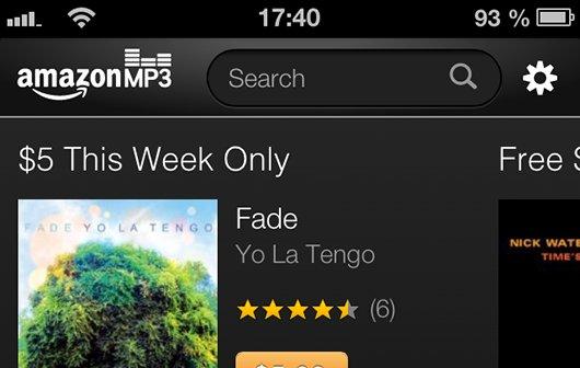 iTunes-Konkurrenz: Amazon startet HTML5-Musikshop für iPhones