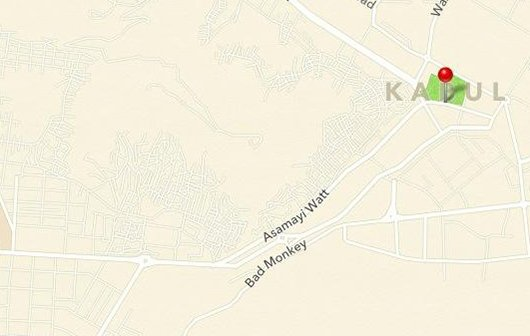 Schlechter Affe: Bizarre Straßennamen in Apple Maps entdeckt