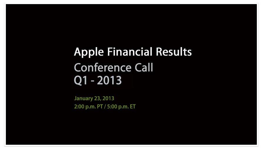 Apple Q1/2013