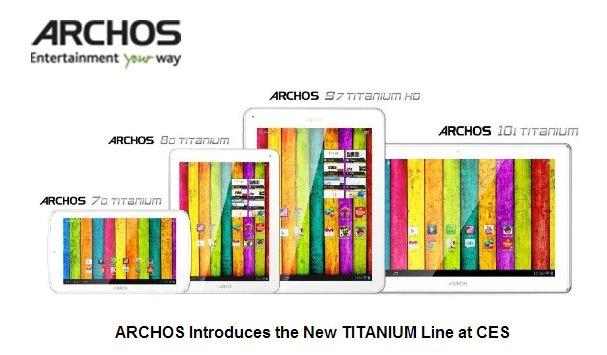 CES 2013: Archos mit HD-Tablets von 7 bis 10 Zoll zum Billig-Tab-Preis