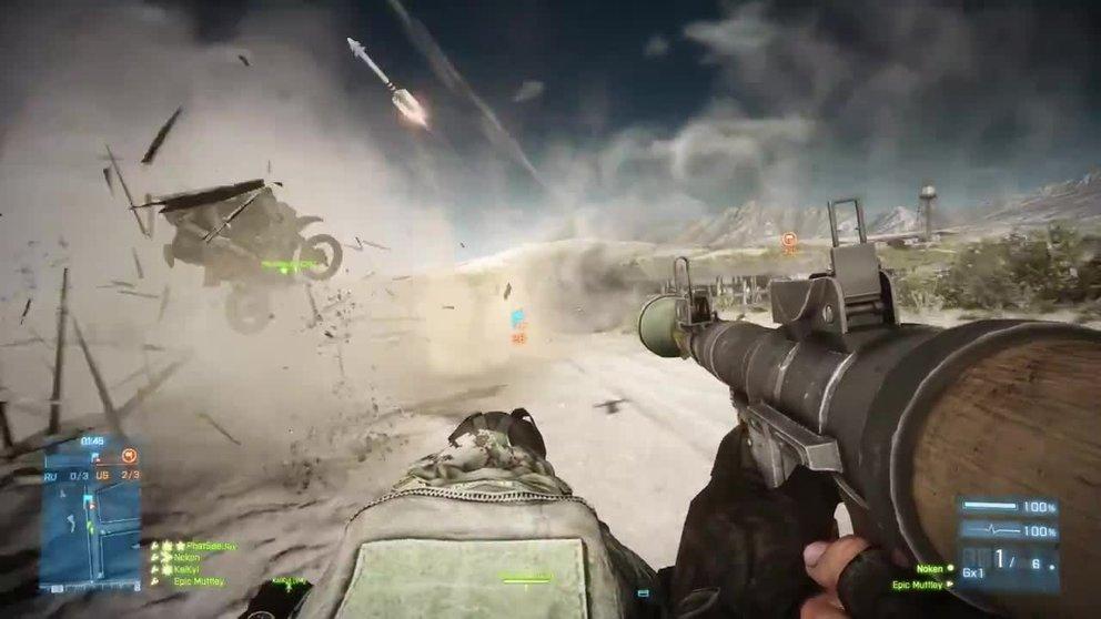Battlefield 3: Explosiver Trailer zum End Game Add-On