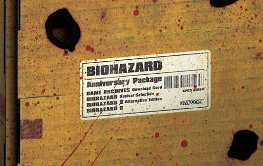 Resident Evil: Anniversary Package für Japan angekündigt