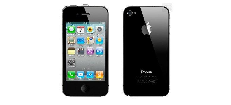 Apple iPhone 4 mit 16 GB für 449,00 Euro bei Ebay