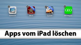 Apps löschen am iPad - so geht's