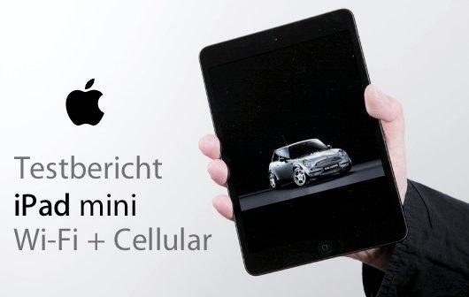 iPad mini Wi-Fi + Cellular (4G): Test und Video