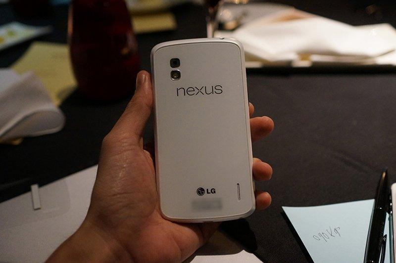 Nexus 4 in Weiß gesichtet: Jetzt mit viel mehr Bildern (Update)