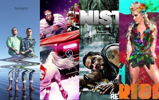 Worst of: Die schlechtesten Album-Cover des Jahres 2012