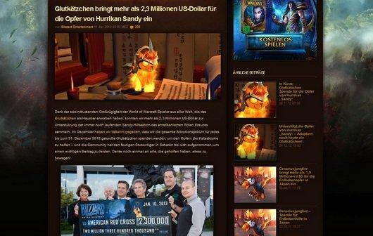 WoW-Kätzchen für den guten Zweck: Blizzard sammelt Spenden