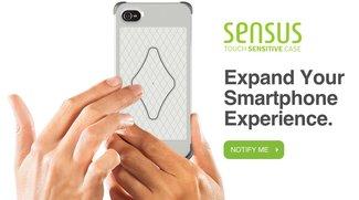 Sensus Case macht iPhone-Kanten und -Rückseite Touch-sensibel
