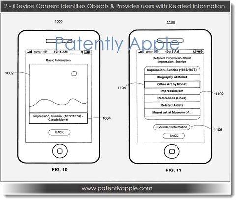 Apples Smart Camera Patent-Antrag
