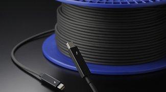 Thunderbolt: Erstes optisches Kabel bekommt Intel-Zertifikat