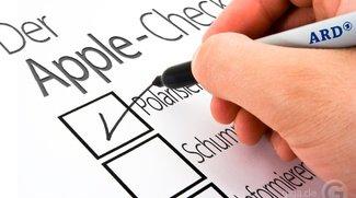 Apple-Check der ARD im Check: Unterhaltung mit Schummelei
