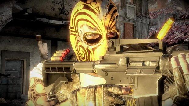 Army of Two - The Devil's Cartel: Video zeigt den Masken-Editor