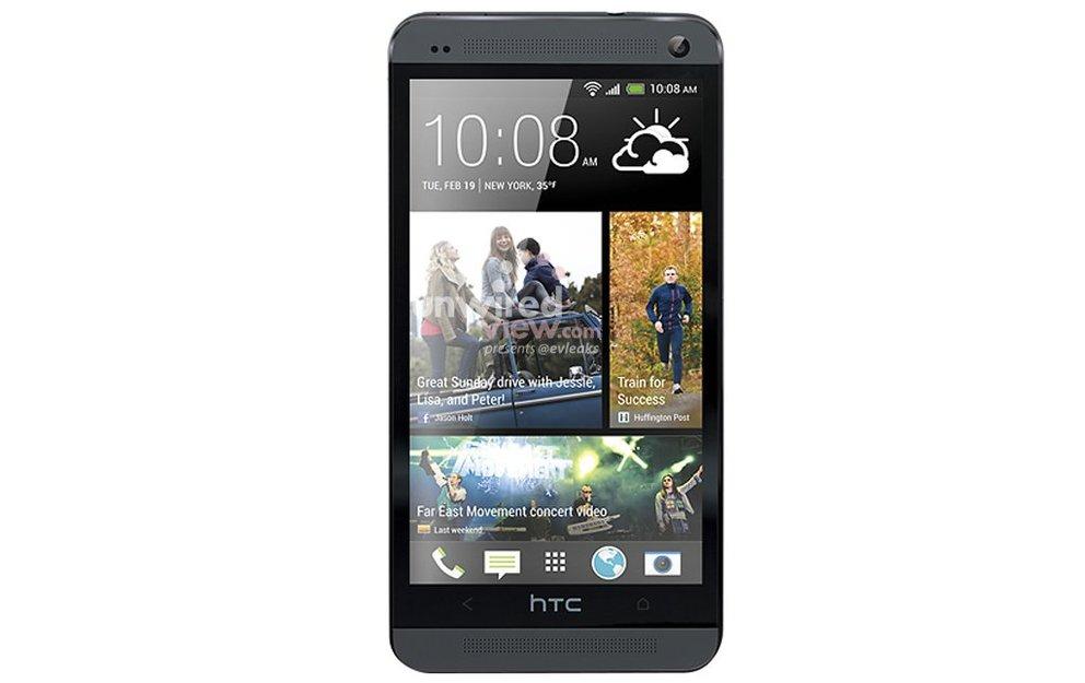 Neues Bild vom HTC One: Schwarze Version des Flaggschiffs zeigt sich