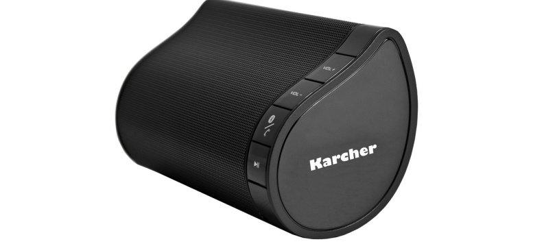 Karcher BT 4160 mobiler Bluetooth-Stereo-Lautsprecher für 29,99 Euro