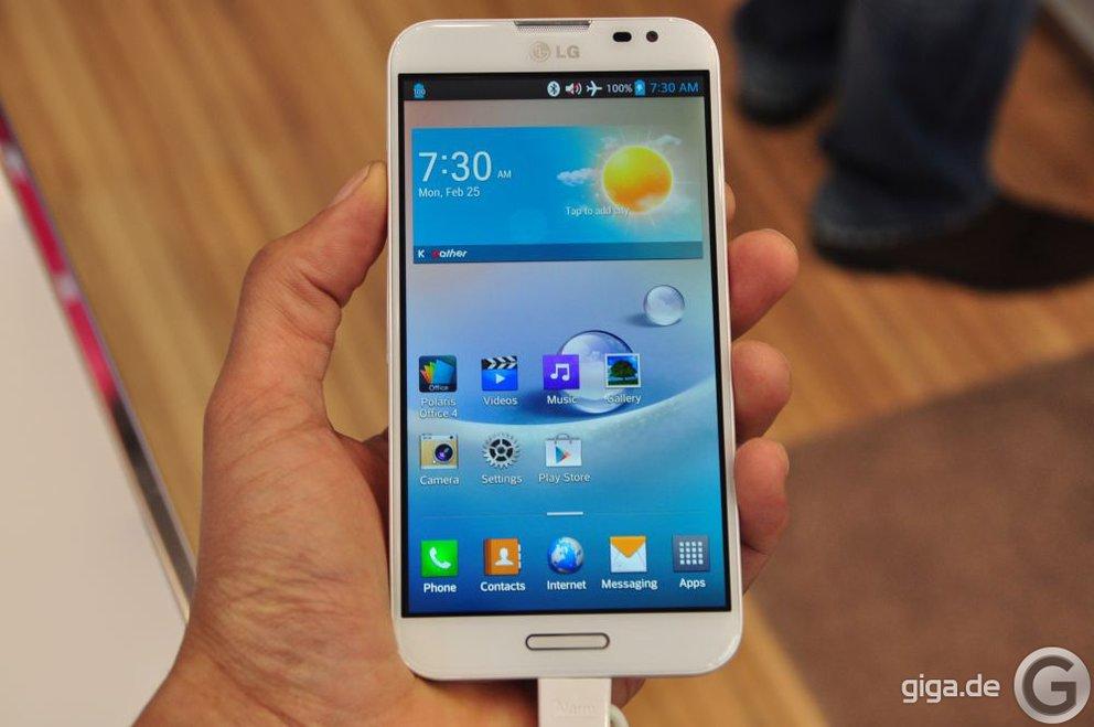 MWC 2013: LG Optimus G Pro im Hands On