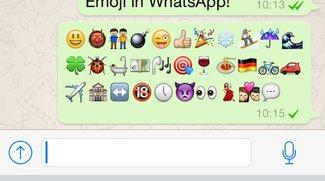 Kostenlose Smileys für WhatsApp freischalten (iPhone-App)