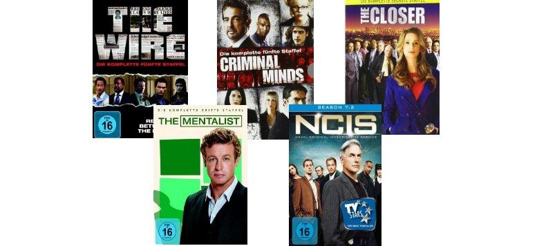 Crime-TV-Serien mit bis zu 40% Rabatt