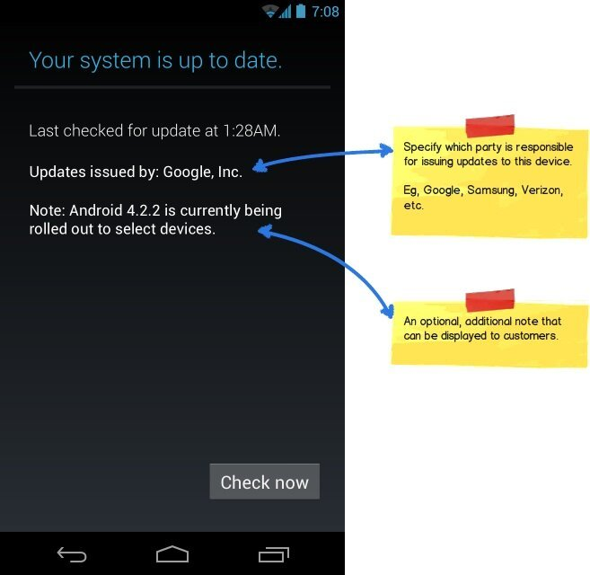 android system update