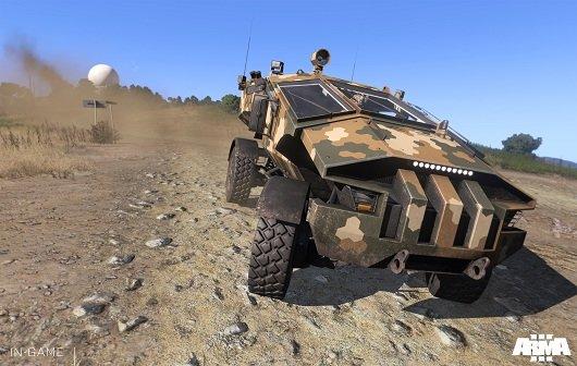 Arma 3: Alpha auf Version 0.54 geupdated