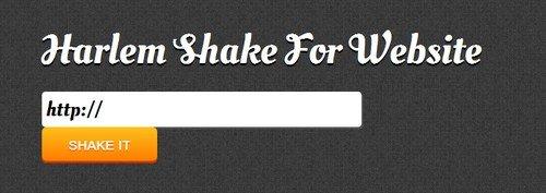 Harlem Shake für Webseiten