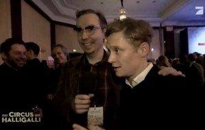 Olli Schulz besoffen auf der Berlinale 2013 - Charles Schulzkowski meets Til Schweiger, Thadeusz, Schweighöfer